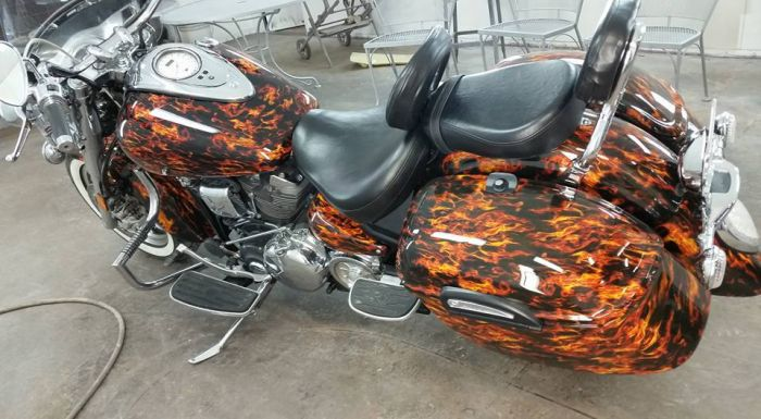 Coyote Customs and Collision repair brings you Motorcycle customs