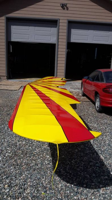Special airplane paint job by Coyote Customs and repair in Payson Arizona