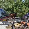 Motorcycle customs at Coyote Customs and Collision repair in Payson Arizona