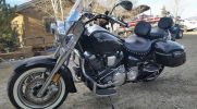 In Payson Arizona Coyote Customs and Collision repair offers Motorcycle painting