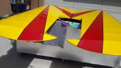 Special airplane paint job done by Coyote Customs and repair in Payson Arizona