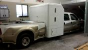 Expanded Truck being prepped for auto paint by Coyote Custom and Collision Repair